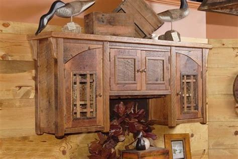 1000  images about Rustic Cabinets on Pinterest   Storage