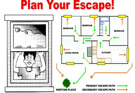 home escape plan exceptional home fire escape plan 11 island fire