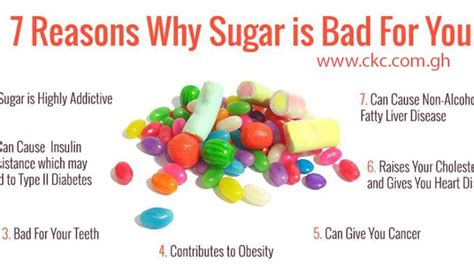 7 Reasons To Leave A Bad by 7 Reasons Why Sugar Is Bad For You Central Kasoa Clinic