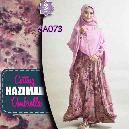 Gamis Jersey Umbrella Baju Gamis Busui Busana Muslim Maxi Dress baju gamis hazimah jersey a073 model busana muslim wanita