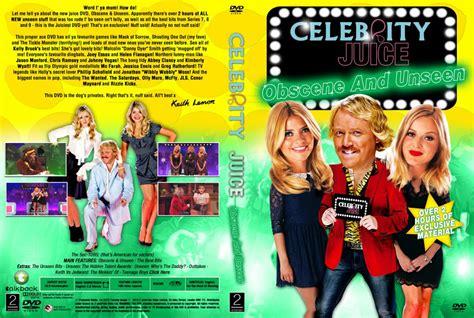 celebrity juice unseen celebrity juice obscene and unseen tv dvd custom covers