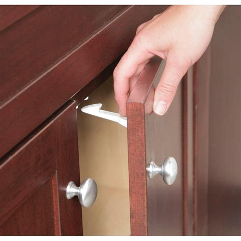 baby locks for kitchen cabinets baby safety latches for cabinets install child safety