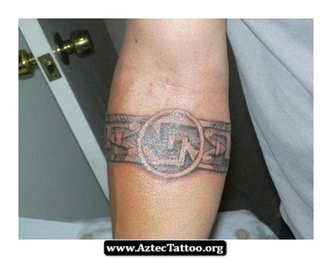 aztec wrist tattoos 1000 images about on tribal wrist