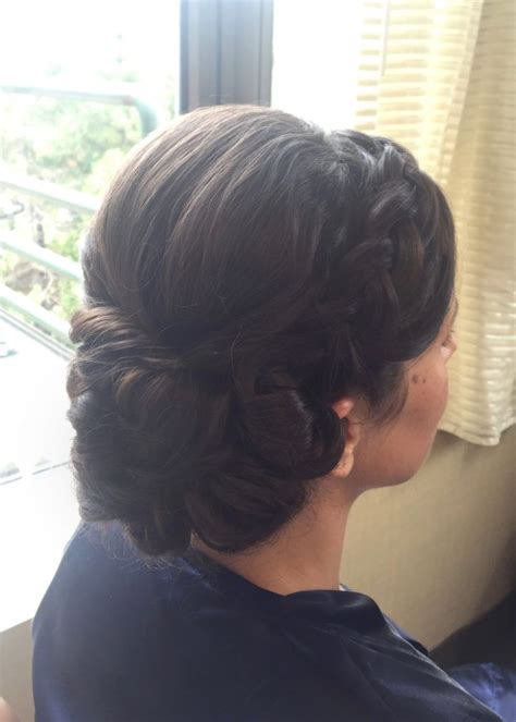 17 best ideas about braided side buns on side bun updo updos with braids and side buns