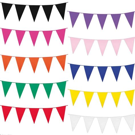 Banner Bunting Flag Happy Engagement Tunangan aliexpress buy 60 m 120 flags white yellow blue color decorative wedding