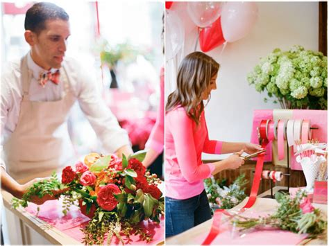 a valentine s day pop up flower shop at gus ruby the moores pop up sinclair moore