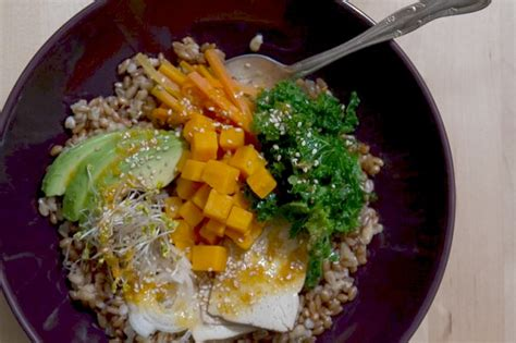 recipes with whole grains and vegetables delicious whole grains vegetable bowl with miso dressing