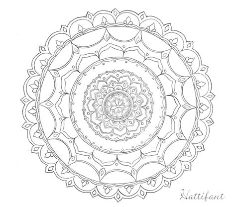mandala coloring pages stress relief stress relief with hattifant doodles hattifant