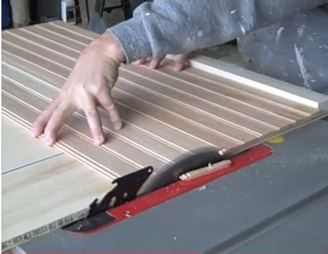 How To Make Beadboard Cabinet Doors Cutting Board For Cabinet Doors On A Table Saw Cabinet Doors Kitchen