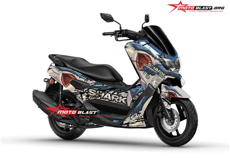 Sticker Striping Motor Stiker Yamaha Ttx New Duke Merah Spec B modifikasi striping yamaha nmax shark new motoblast