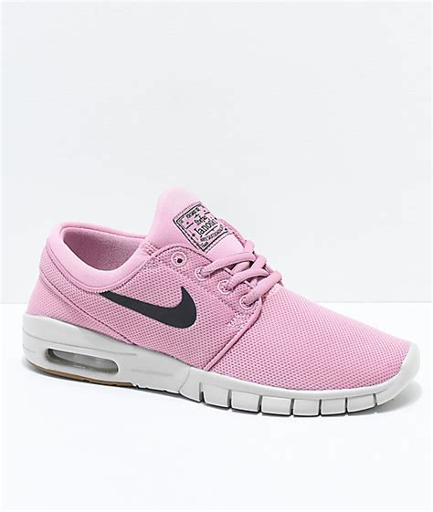 Sepatu Murah Nike Janoski Max 3 nike sb boys janoski air max elemental pink skate shoes zumiez
