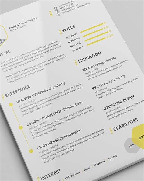 Resume Templates Buzzfeed Brand Ideas Story Style My 21 Free R 233 Sum 233 Designs Every Needs