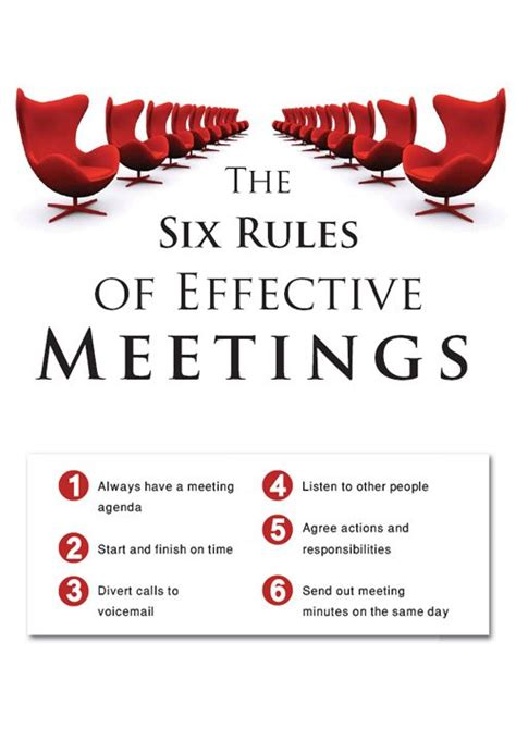 Chairing Effective Meetings by 25 Best Ideas About Effective Meetings On