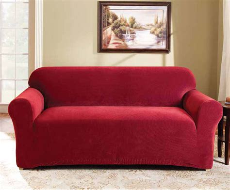 red sofa cover red 2 seater couch cover by surefit couch covers best