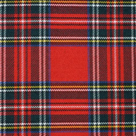 what is plaid royal stewart tartan