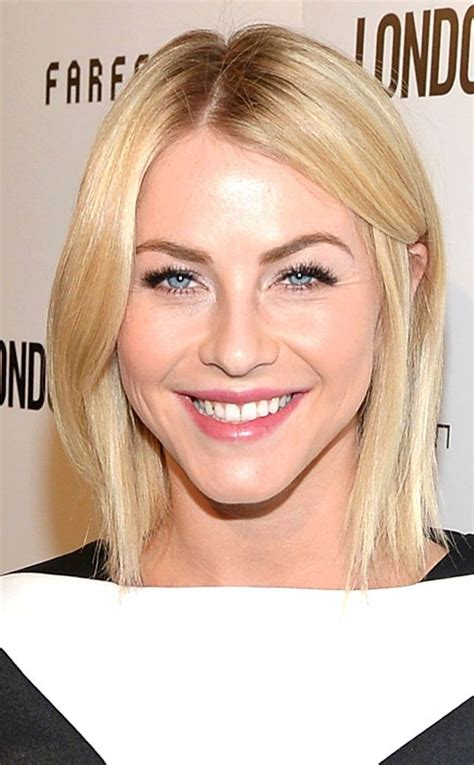 why did julianne hough cut her hair this warm buttery blonde haircolor flatters julianne