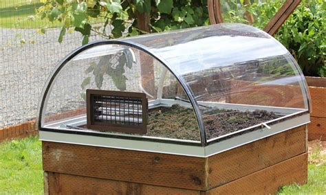 how to make a small covered greenhouse garden growizard raised garden greenhouse system crystalite inc
