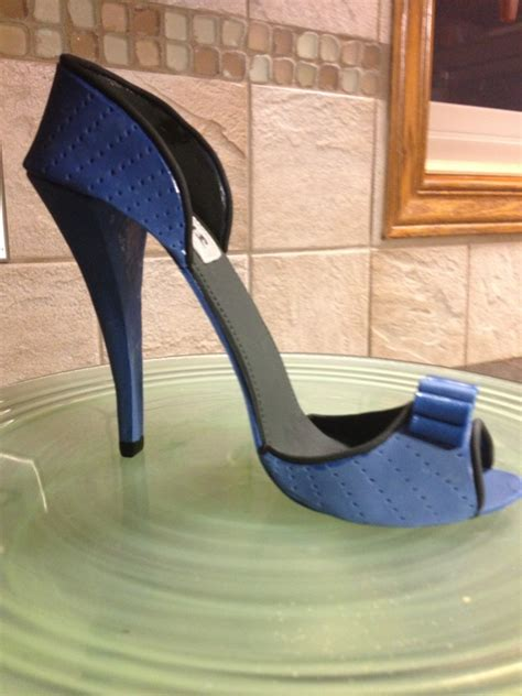11 best images about fondant shoe cake on pinterest shoe