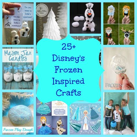 25 disney s frozen inspired crafts diy for
