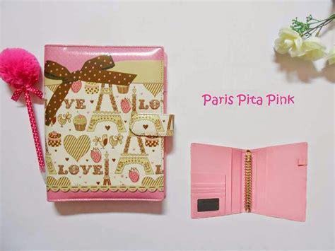 Binder Pita 20ring jual binder kulit pita pink raisy clothing