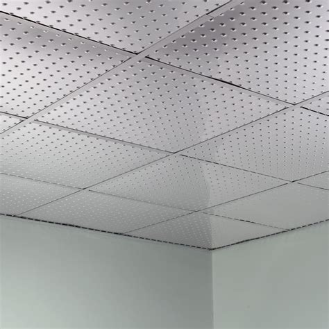 fasade ceiling tile 2x2 suspended minidome in brushed aluminum