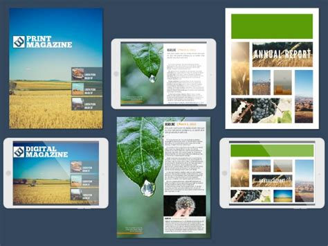 Magazine Maker Design Magazines Online 14 Free Templates Electronic Magazine Template