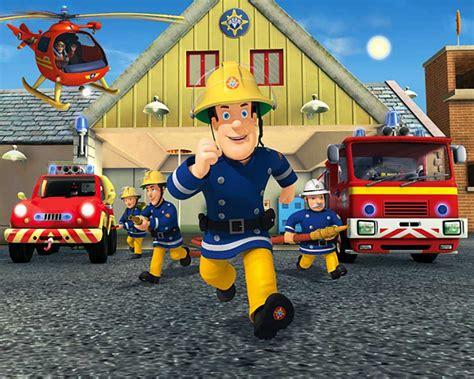 Kinderzimmer Gestalten Feuerwehrmann Sam by Fototapete Kinderzimmer Wandbild Fireman Sam Feuerwehrmann