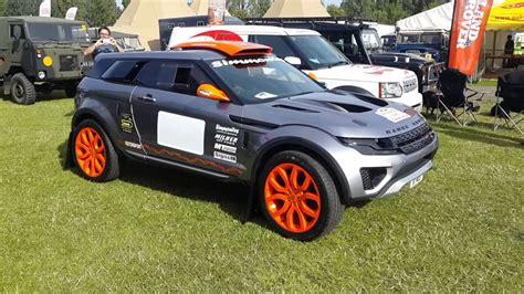 retro range rover race retro 2015 range rover evoque lrm1 milner road