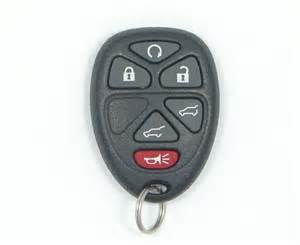 Chevrolet Remote Start 2008 Chevrolet Tahoe Remote Keyless Entry Key Fob 15913427