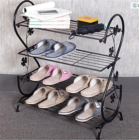 simple shoe rack cosmecol aishn continental iron multi layer simple shoe rack