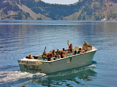 boat tour crater lake permits reservations crater lake national park u s