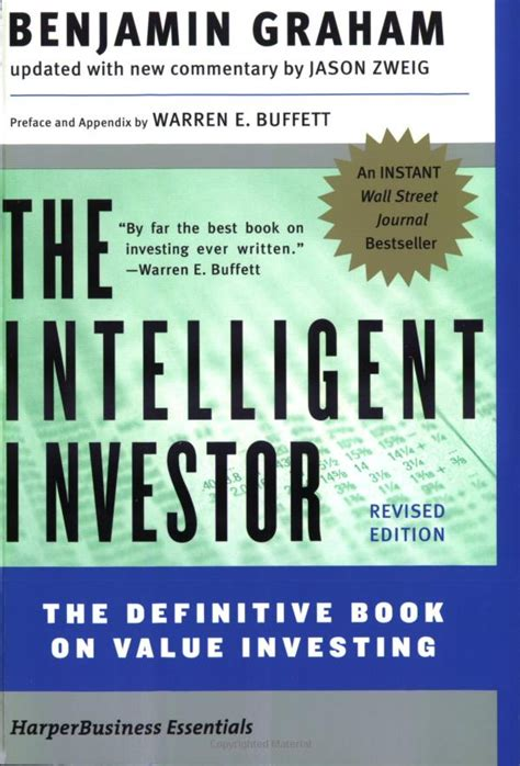 The Intelligent Investor Benjamin Graham quot the intelligent investor quot by benjamin graham business insider india