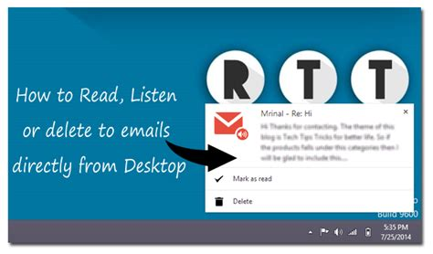 How To Remove Your Email From Search How To Read Listen Or Delete Emails From Desktop Techwiser