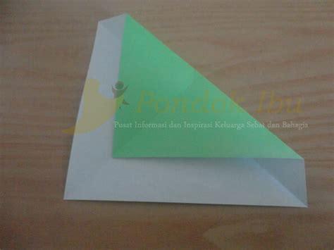 cara membuat origami arnab membuat origami kura kura