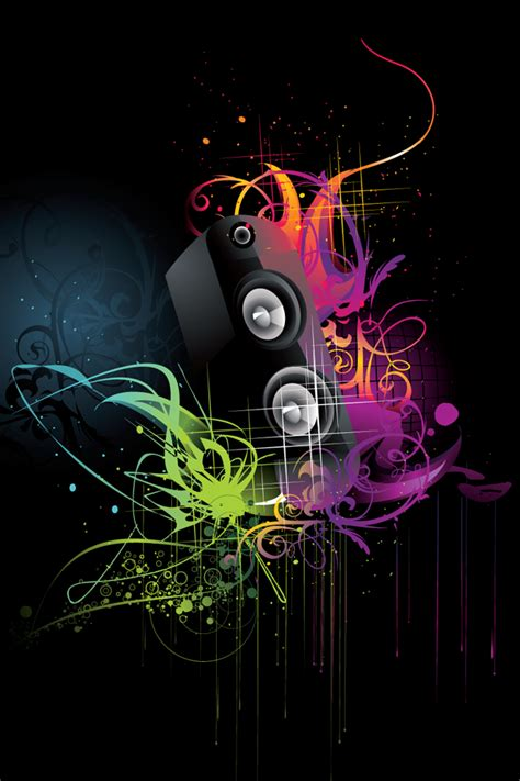 wallpaper design abstract music wallpaper free music wallpapers for iphone