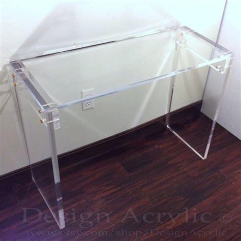 clear acrylic sofa table acrylic console table clear