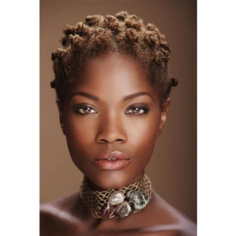 hairstyles for short hair knots bantu knots short hair