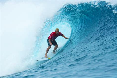 surfer matte small barrels and a few surprises at teahupoo