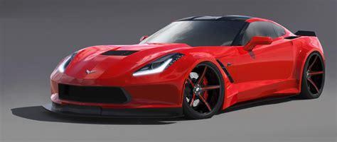 Forgiato Wheels Building a Widebody C7 Corvette Stingray for SEMA   Corvette: Sales, News