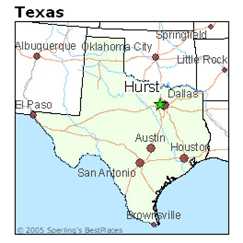 map of hurst texas best places to live in hurst texas