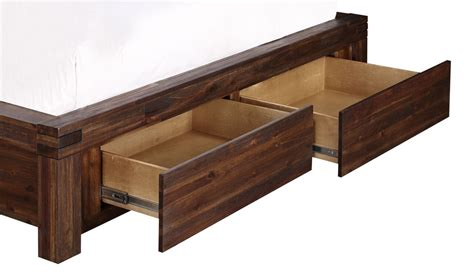 solid wood storage bed modus meadow solid wood storage bed