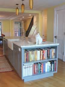 Kitchen Bookshelf Ideas by Cookbook Storage Houzz
