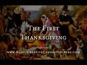 describe the first thanksgiving the first thanksgiving story youtube