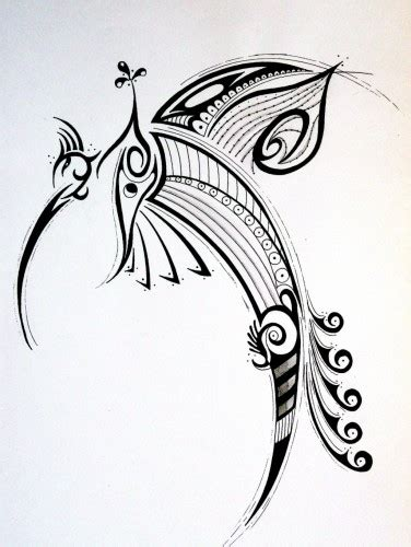 Tattoo Tribal Oiseau | wallpapers art pencil gt wallpapers tattoos oiseau tribal