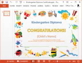 how to create a certificate template how to make a printable kindergarten diploma certificate