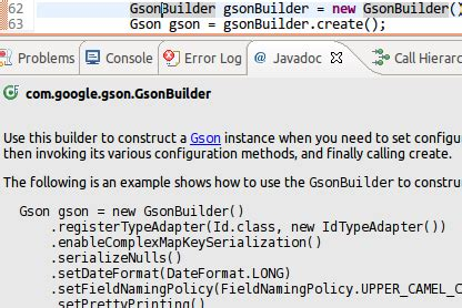 Gson Documentation