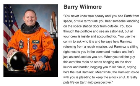 Stories From Space astronaut barry wilmore