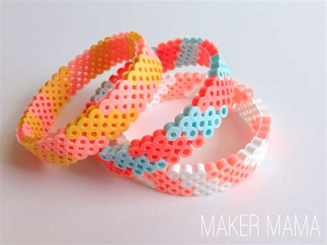 maker craft perler bead bracelet