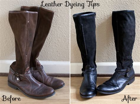 how to dye leather and suede