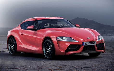 2019 Toyota Supra Rendered